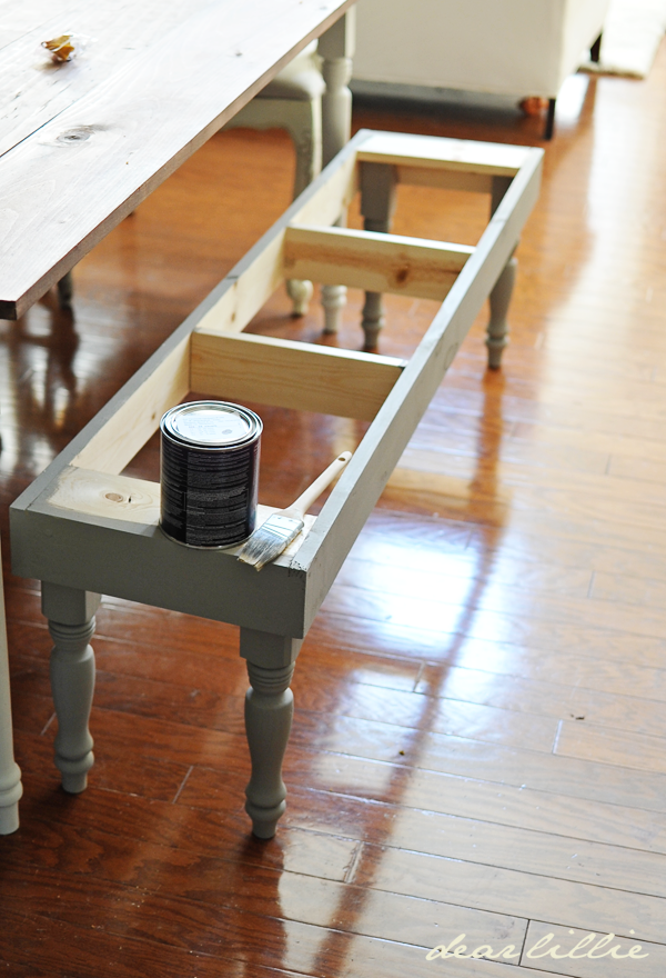 Dear Lillie Dining Room Bench Tutorial Could Be Used For Idea To Make The