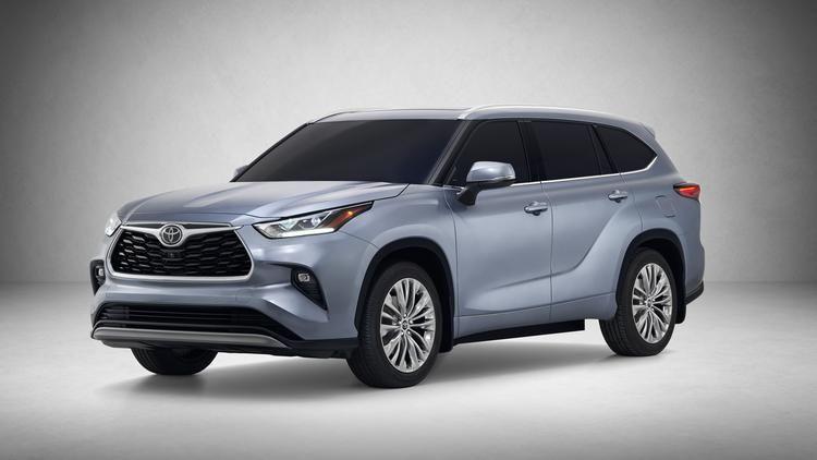 Toyota Highlander Redesign In 2020 Toyota Suv Toyota Highlander Toyota Highlander Hybrid