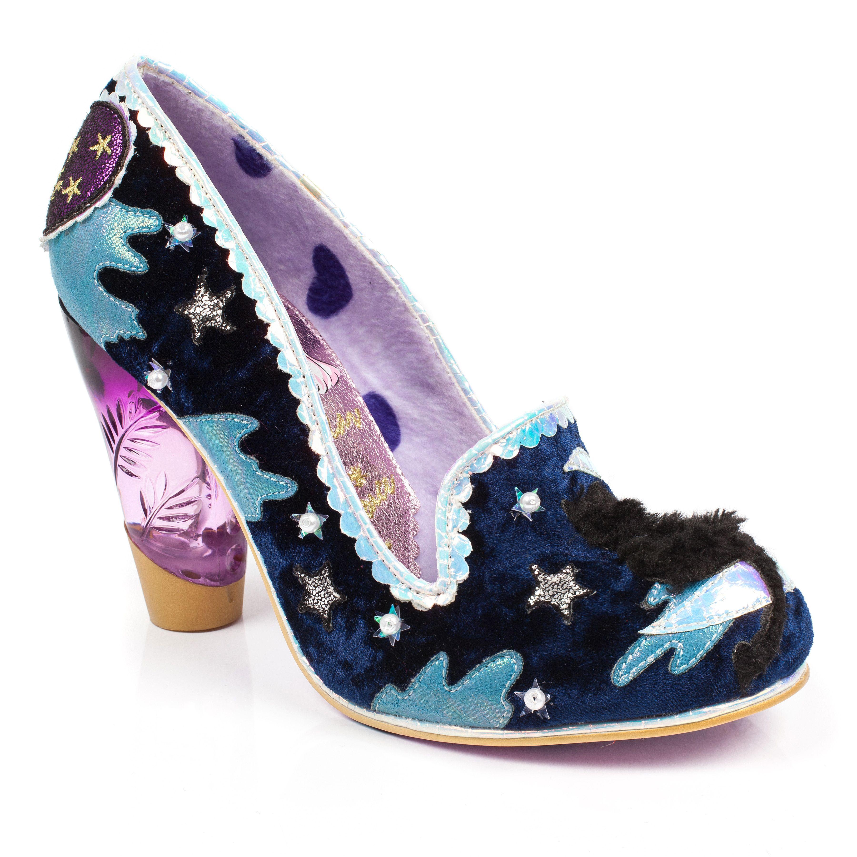 Zapatos negros vintage Irregular Choice para mujer HKXs5aTGdp