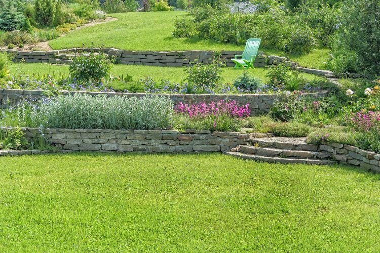 Comment Amenager Son Jardin En Pente Avec Images Comment Amenager Son Jardin Jardin En Pente Amenagement Jardin
