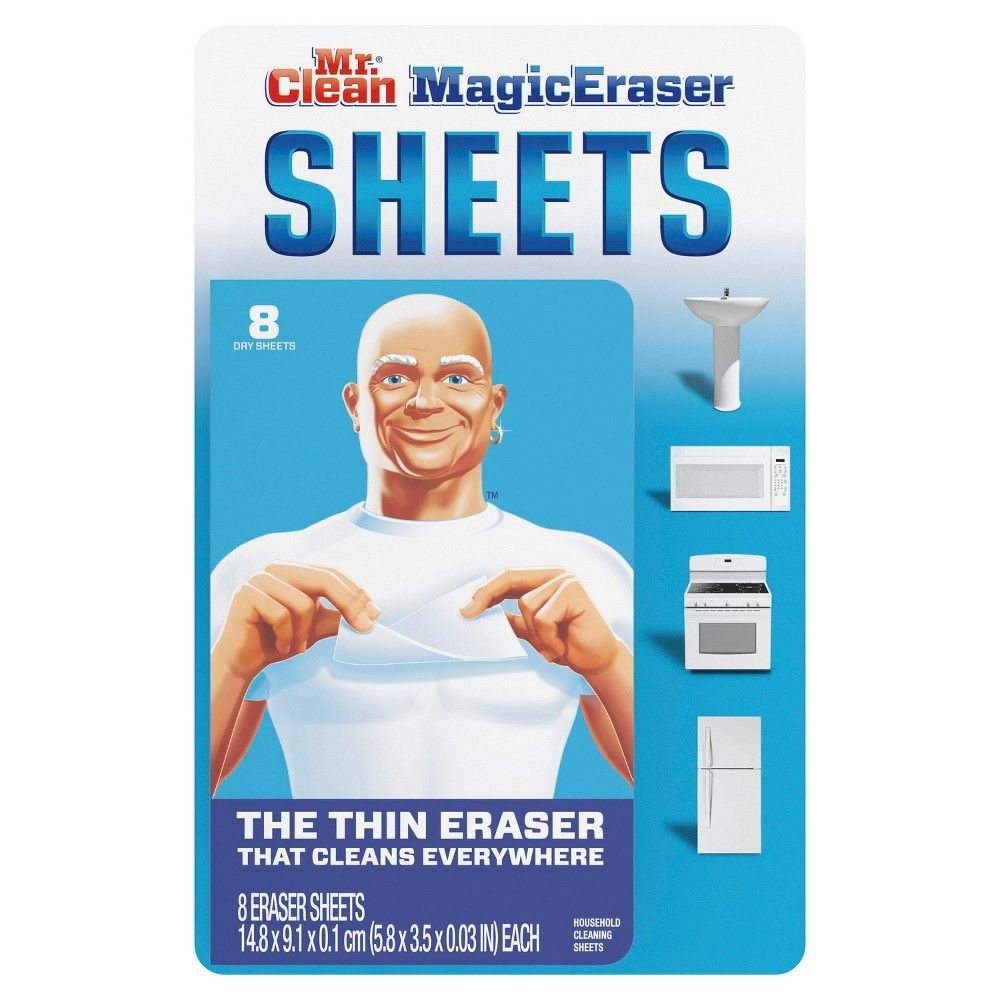 Mr Clean Magic Eraser Cleaning Sheets Deep Cleaning Tips Cleaning Hacks Clean House