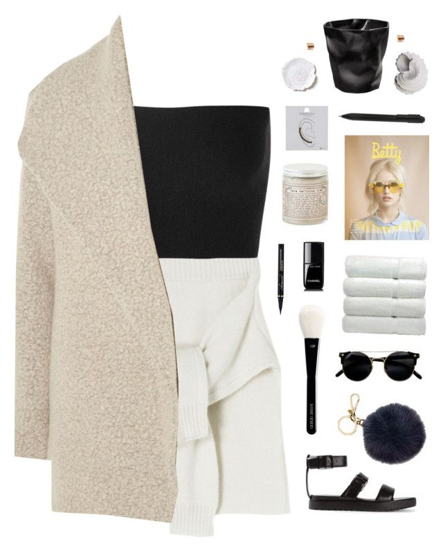 """Youth"" by xxpai ❤ liked on Polyvore featuring Calvin Klein Collection, James Perse, Alexander Wang, Michael Kors, Giorgio Armani, Chanel, Topshop, Moleskine, Urban Trends Collection and Bellezza"