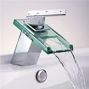 Waterfall Bathroom Sink Faucet with Glass Spout(Chrome Finish) - See more at: http://www.homelava.com/en-waterfall-bathroom-sink-faucet-with-glass-spout-chrome-finish-p19183.htm#sthash.18Ym6Kod.dpuf