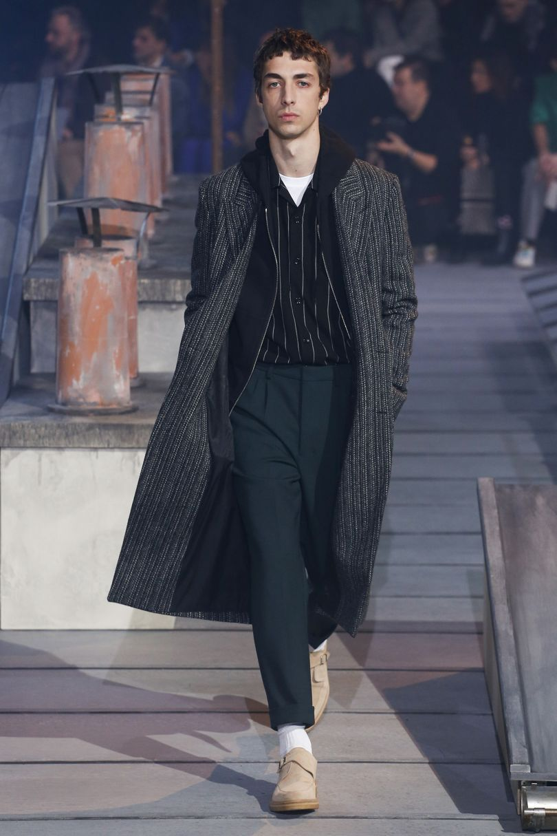 Ami autumnwinter menswear british vogue mensfashions