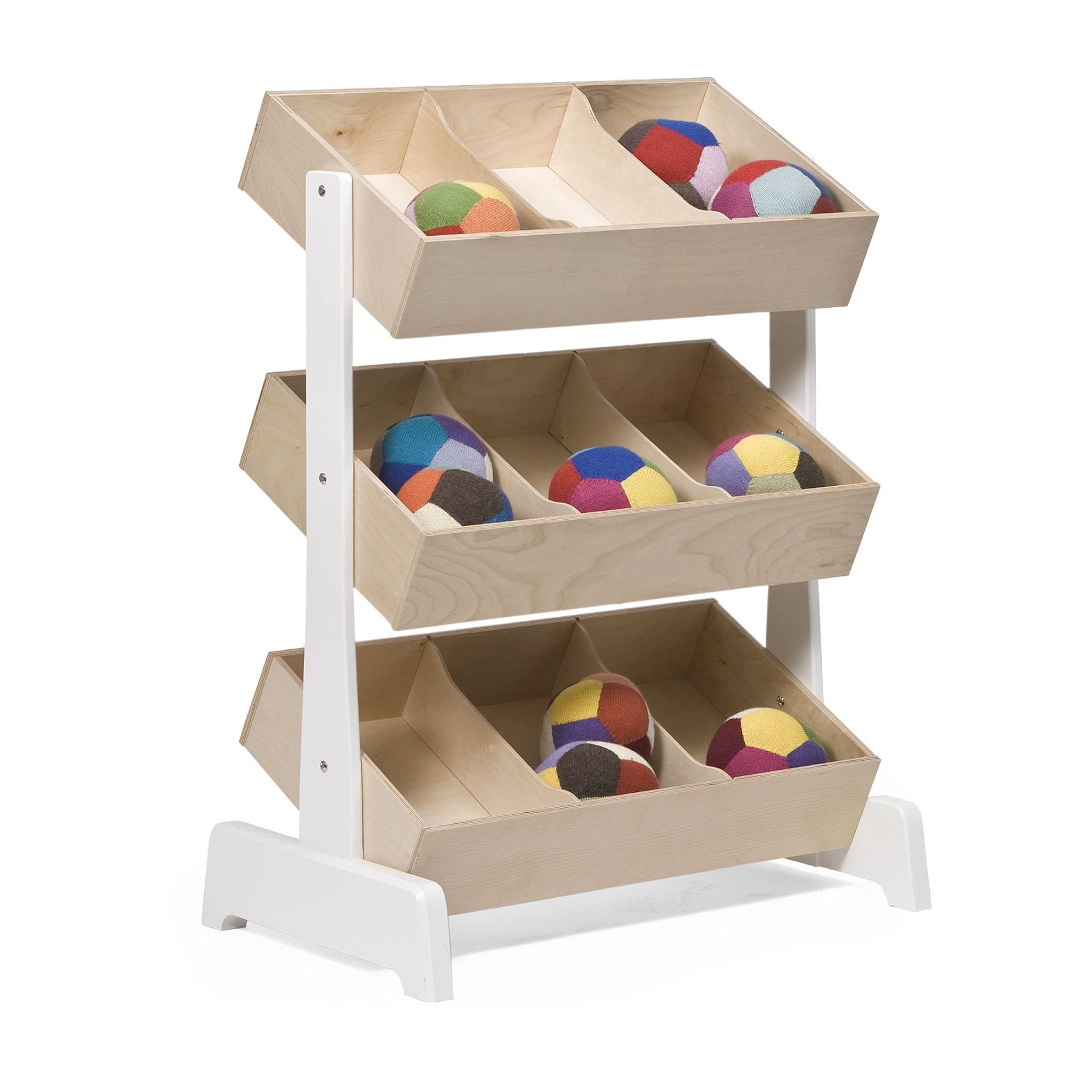 Gray Playrooms Children S Storage Bins Shelves Children S Storage Bins Oeuf Toy Storage Oeuf Toy Storage Toy Storage houzz-03 Kids Storage Bins