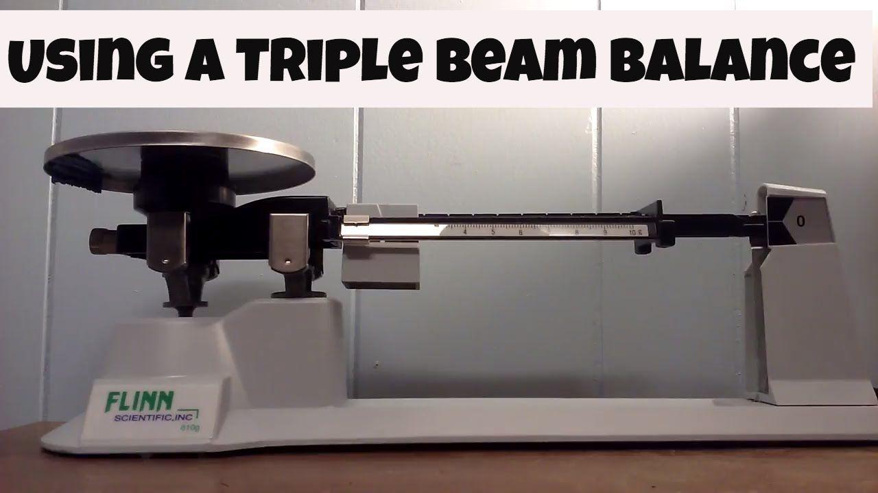 Triple Beam Balance Practice Middle School Math Pinterest