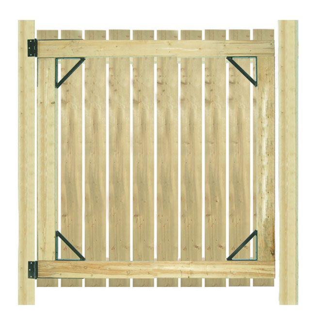 Gate Hardware Kit Gate Kit Wood Fence Waterproof Bathroom Flooring