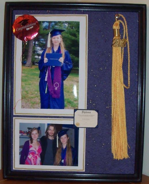 Ambers Craft A Week Blog Graduation Photo Frame And Tassel Holder