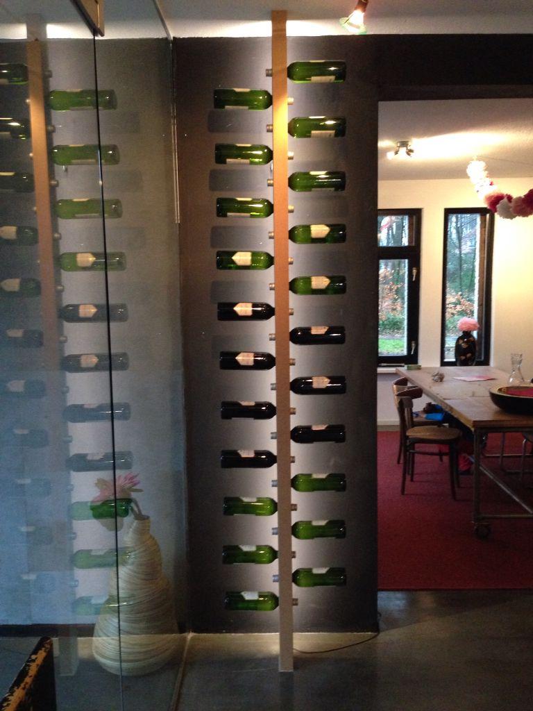Wijnrek Wijnpaal Interiors Wijnrek Muur Interieur En
