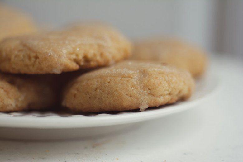 Vegan Sour Cream Cookies