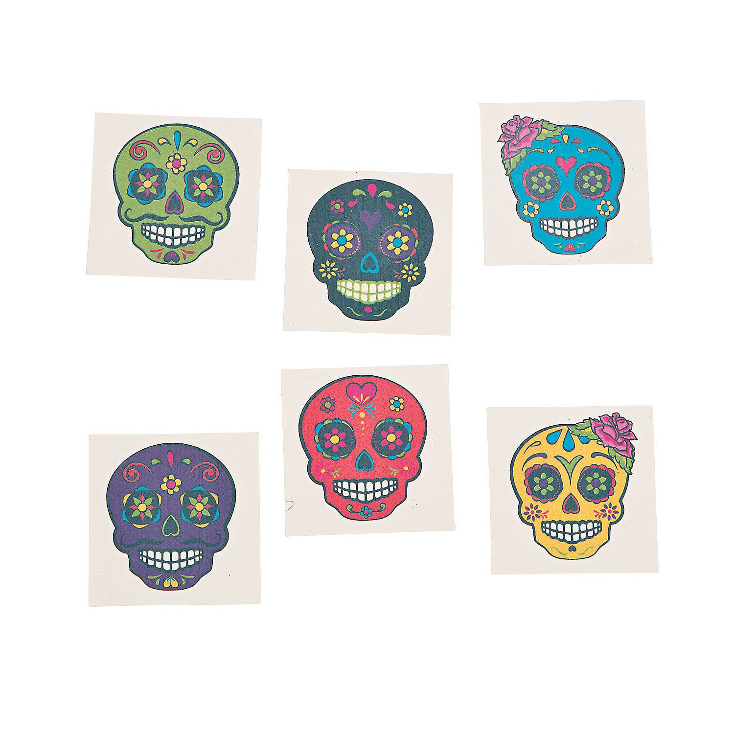 Sugar Skull Tattoos Ot $499 72 Pcs