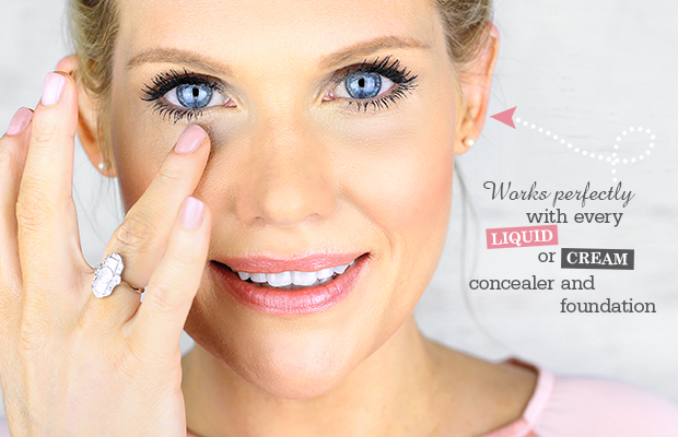 This Stops Concealer Going into Wrinkles! Under eye