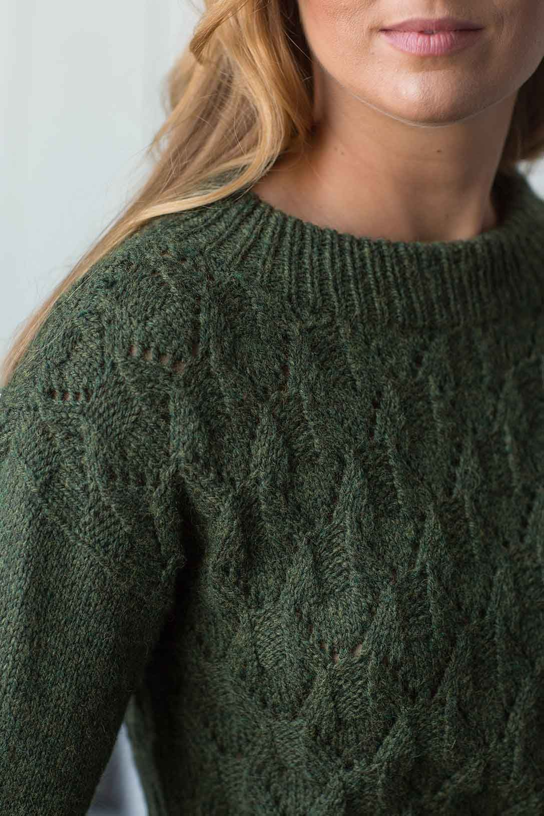 3287b4a02 Evergreen Mountain Pullover Knitting Pattern Download