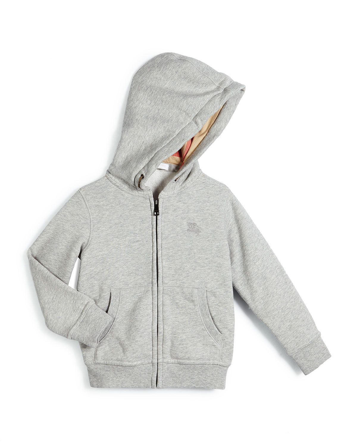 burberry hoodie kids orange