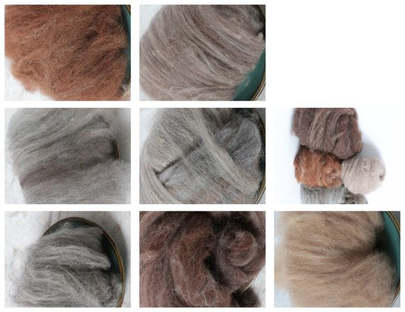 Alpaca slivers rovings batts and bales by BattsNBales on Etsy