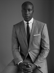 Ozwald Boateng (born 1967) is an English fashion designer of Ghanaian descent, known for his trademark twist on classic British tailoring style....Such a handsome man... !!