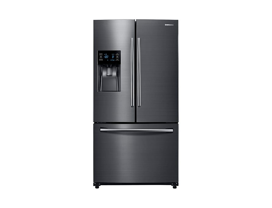 Rf263beaesg French Door With Twin Cooling Plus 24 6 Cu Ft French Door Refrigerator