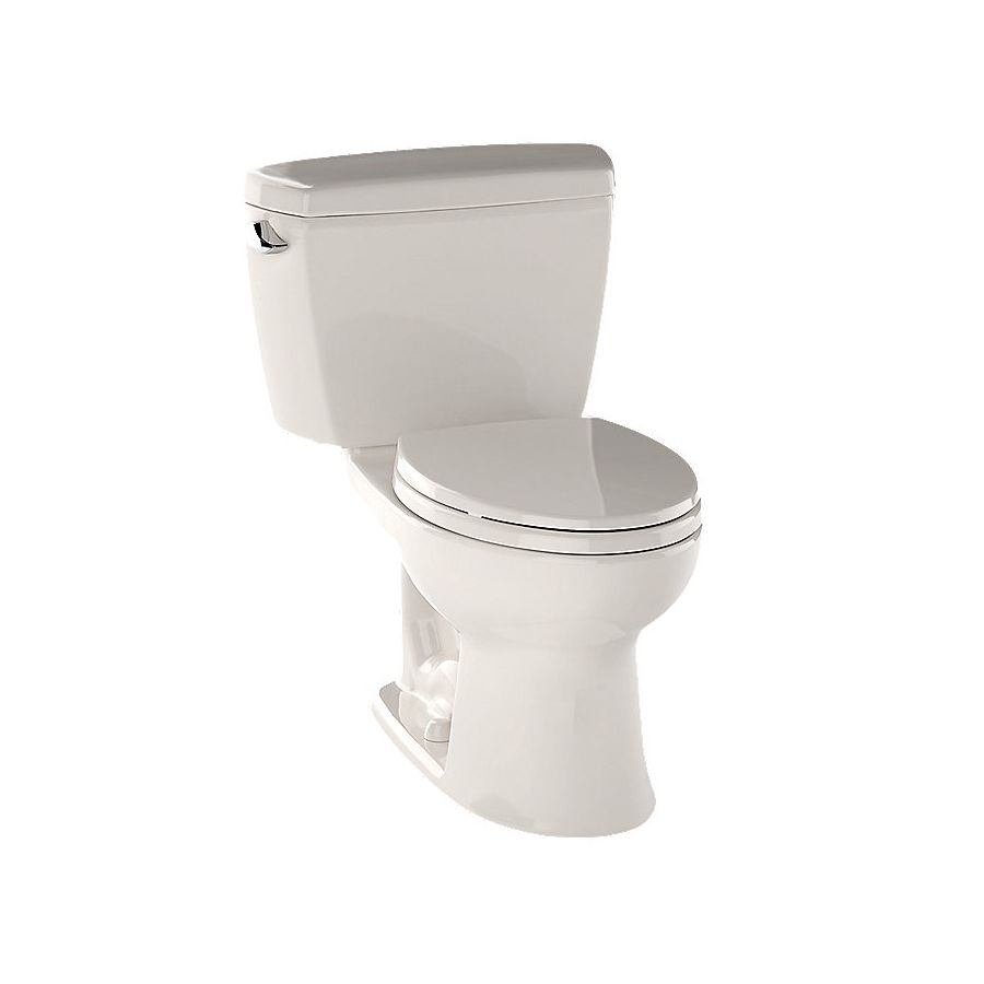 Toto Drake Sedona Beige Elongated Standard Height 2 Piece Vitreous China Toilet 12 In Rough In Size Lowes Com Water Sense Toto China Toilet