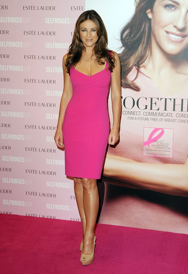 How does Elizabeth Hurley still look this good?   Maddie\'s work ...
