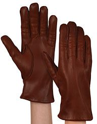 Chester Jefferies bespoke gloves (made to fit an exact trace of your hand!). £46.00