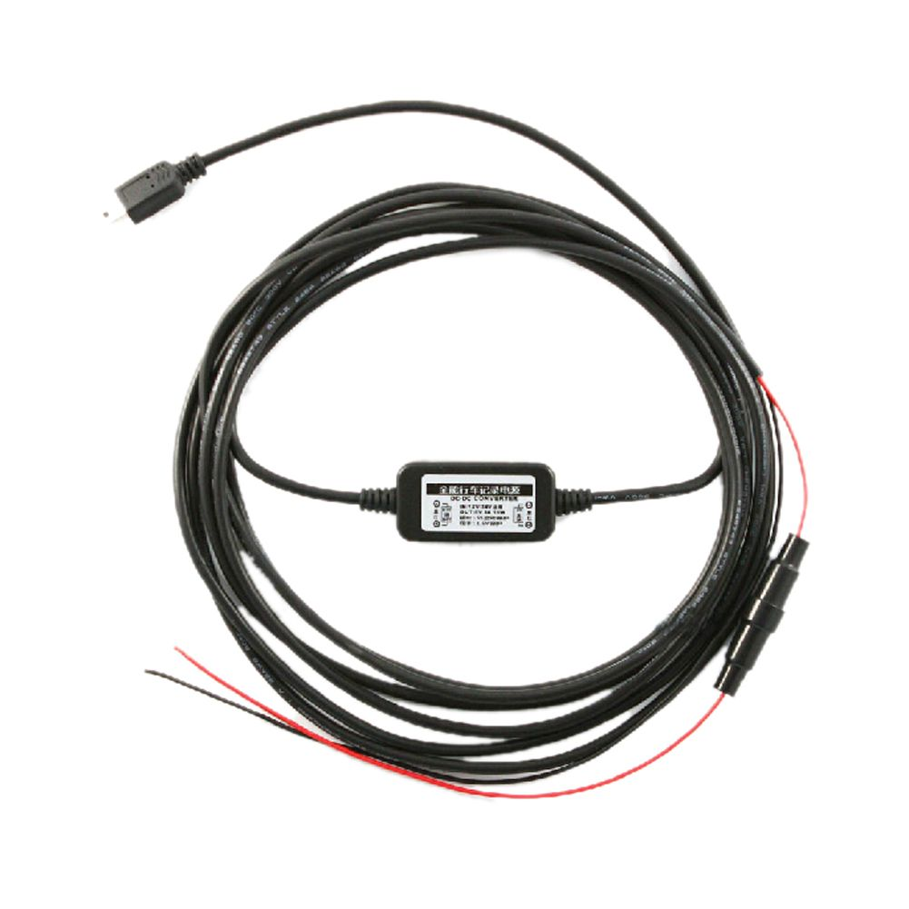 Car Dvr Wire 12v 24v Car Camera Recorder Wire Dash Cam Hardwire Installation Kit Mini Usb Power Supply Cable Cord Dashcam Car Camera Car Electronics
