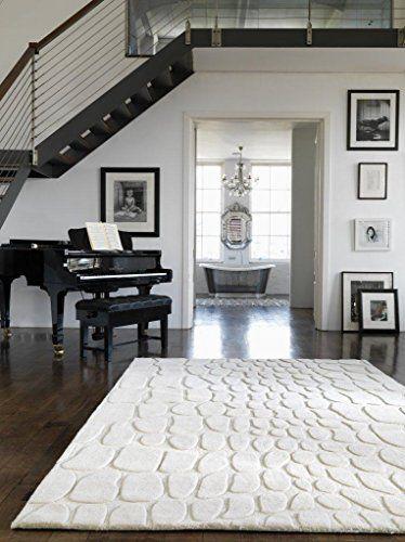 Teppich Wohnzimmer Carpet modernes Design CROC 3D UNI RUG 100