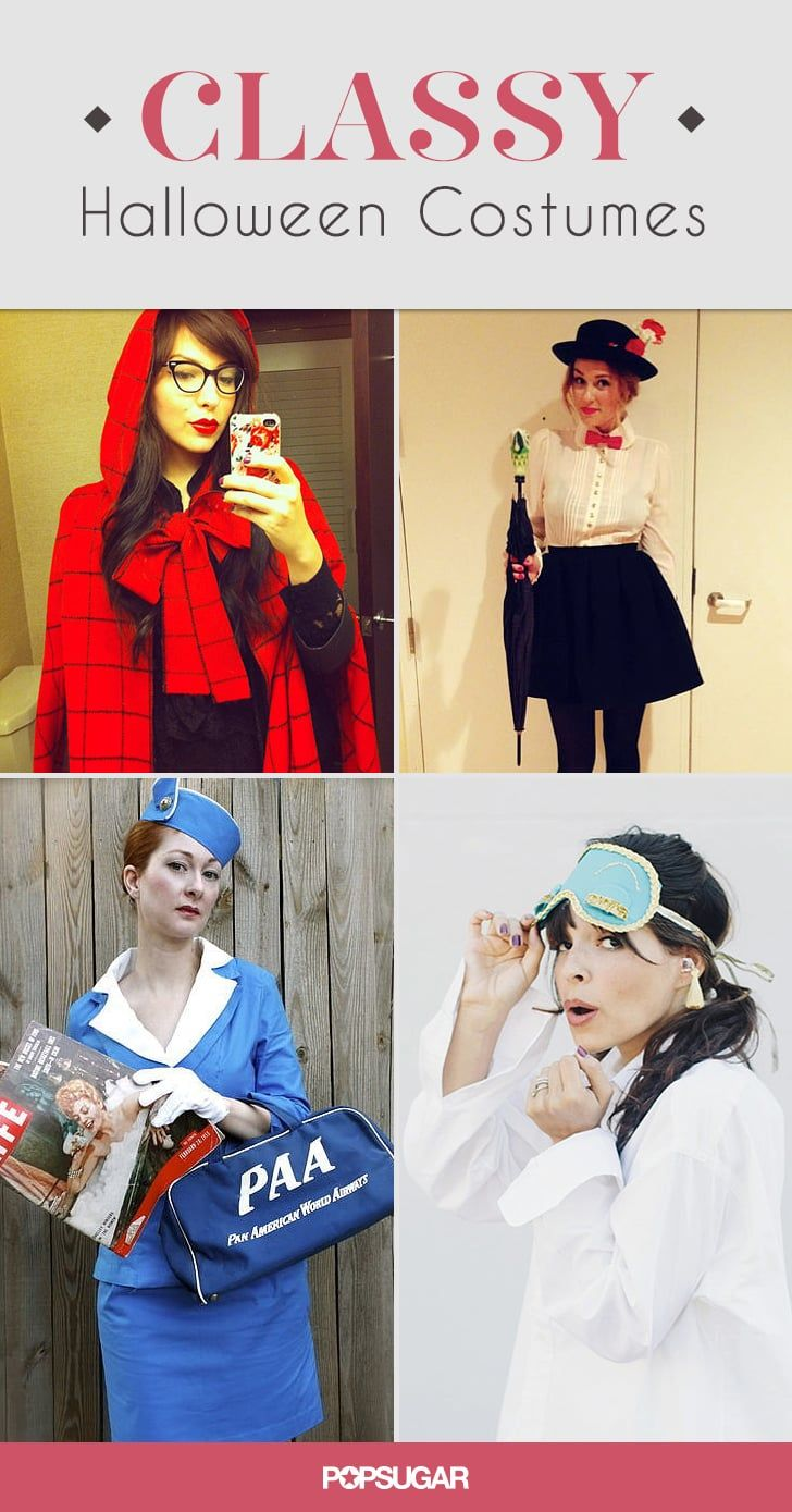 11 Sexy (Not Skimpy!) Costumes For a Hot-but-Classy Halloween