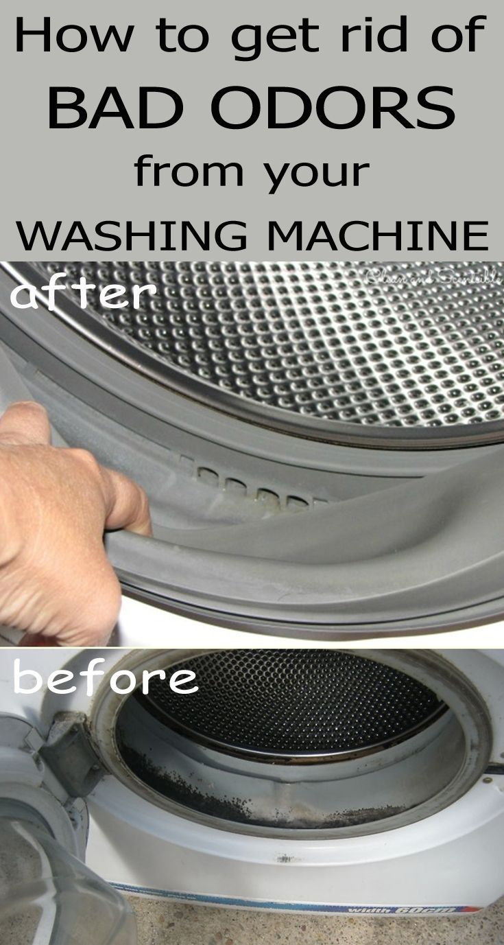 How to get rid of bad odors from your washing machine
