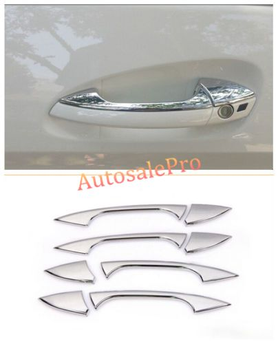 Chrome Side Door Handle Cover Trim For Mercedes Benz E Class W212 E300 E350 2010 2015 Chrome Door Handles Benz E Class Benz C