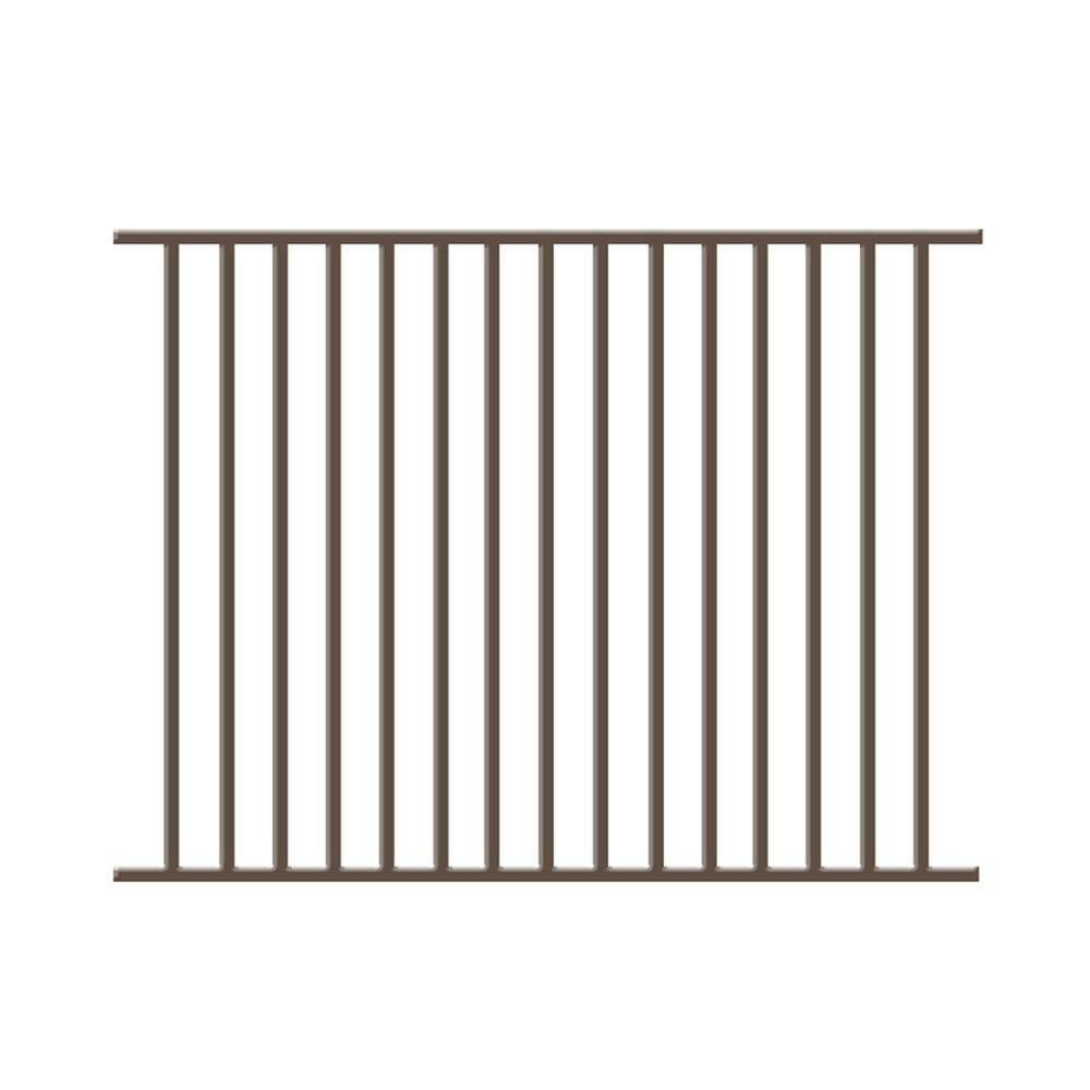 Metal Fence Panels Forgeright Fencing Newtown 4 Ft X 6