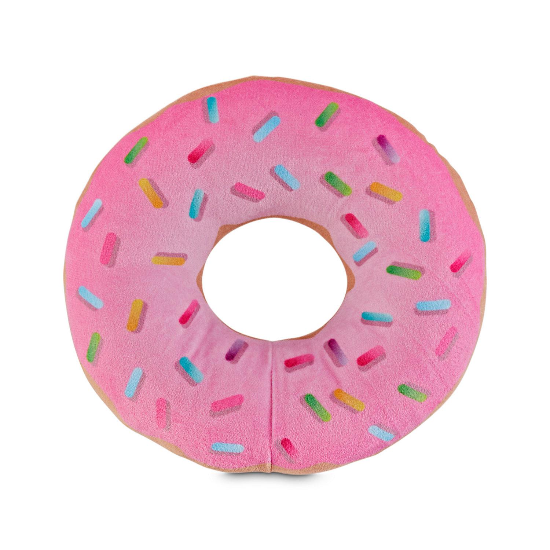 Leaps Bounds Play Plush Sprinkle Donut Dog Toy Medium Dog