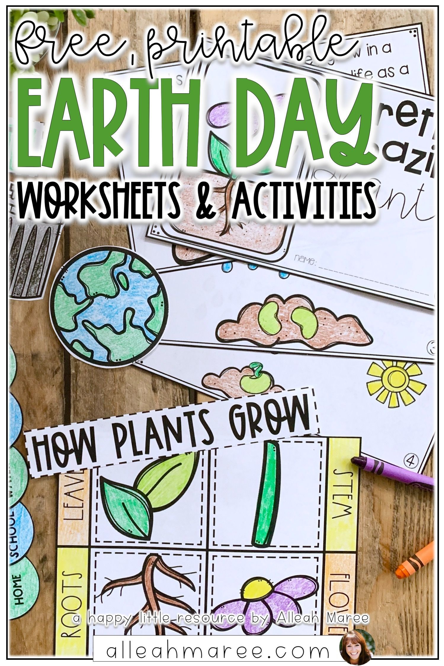 Free Earth Day Activities And Worksheets Earth Day Activities Picture Writing Prompts Learner Sign [ 2249 x 1499 Pixel ]