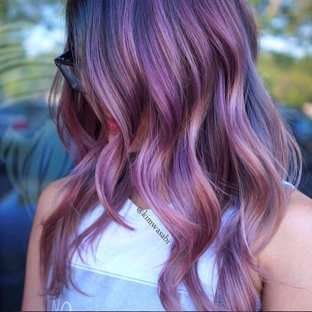 Watercolor Hair Our Latest Obsession Bold Hair Color Lilac