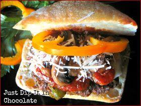 Just Dip It In Chocolate: Pizza Burgers Recipe