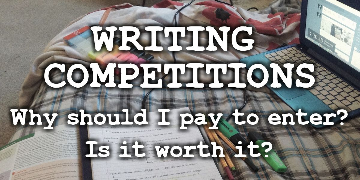 What are writing competitions? Why should I pay to enter? → http://bit.ly/29bm4oQ #amwriting #writenow #creativewriting #writingtips