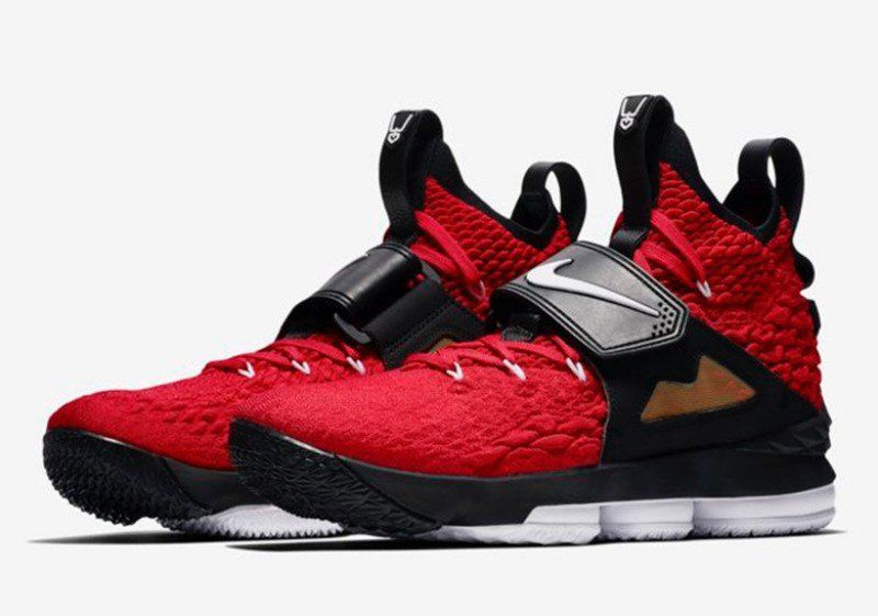 Buy Nike LeBron 15  Red Diamond Turf  Sneakers + Review  3afe54f068