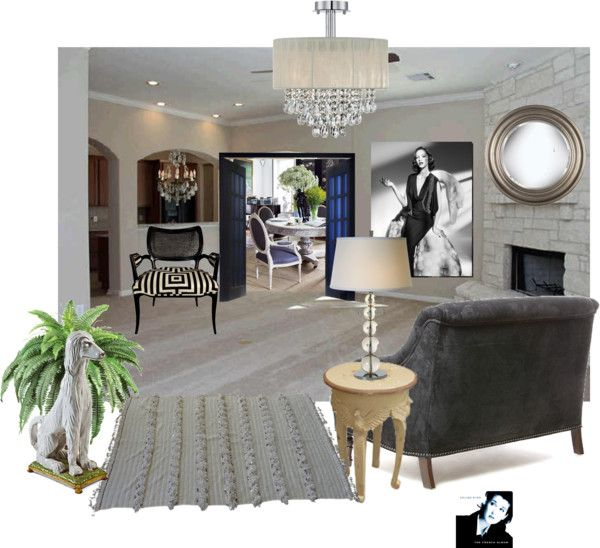 """""""A living room in FRANCE"""" by czarabella on Polyvore"""