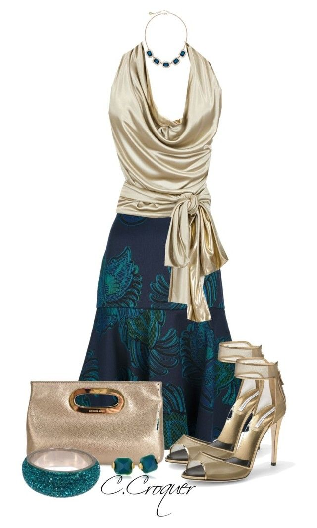 S.McCartney Skirt by ccroquer on Polyvore featuring polyvore, fashion, style, Alexandre Vauthier, STELLA McCARTNEY, Diane Von Furstenberg, Michael Kors, Sam Edelman, Monet and clothing