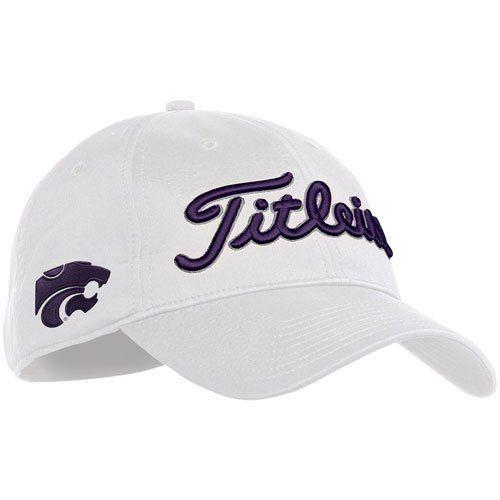 065159b64f5 Titleist Tour Preferred Adjustable NCAA Golf Hat