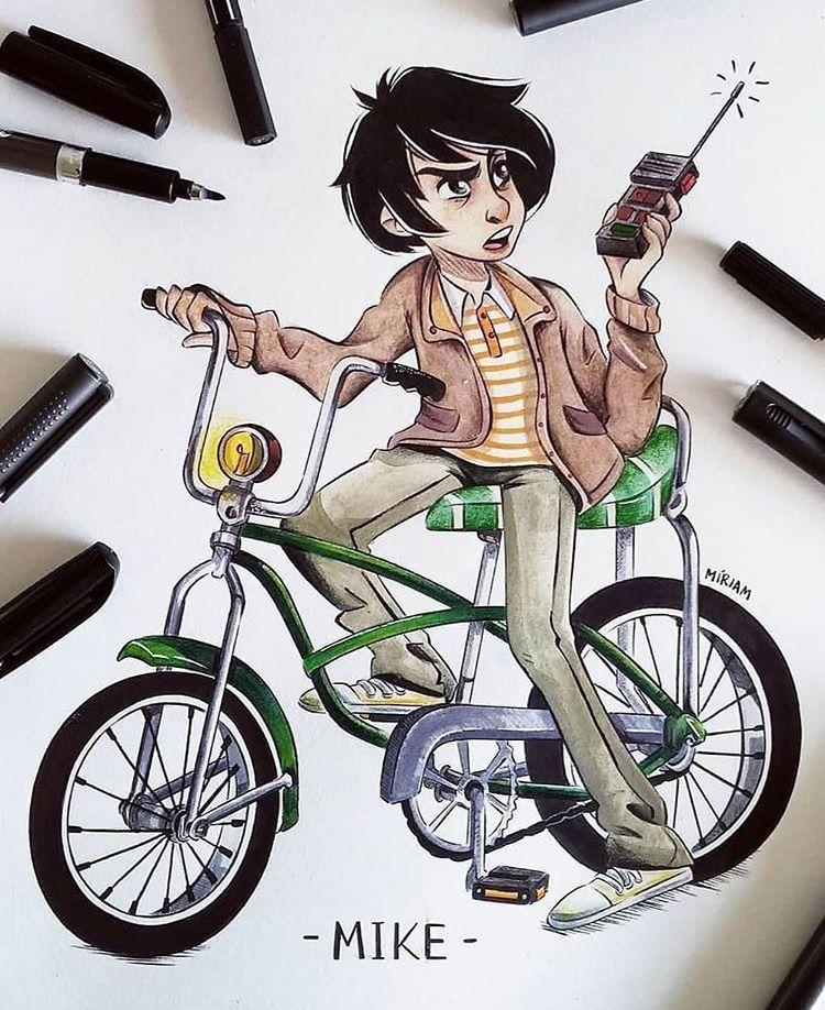 Mike Stranger Things Dibujos Dibujos Echos A Lapiz Dibujos A Lapiz Faciles