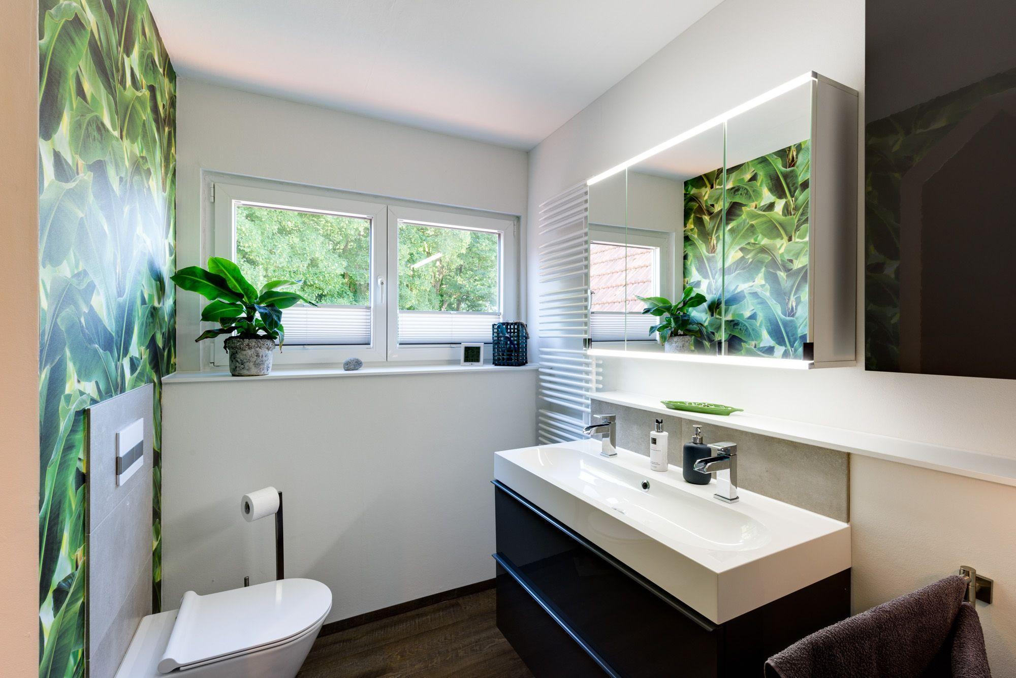 Elegantes badezimmerdesign moderne kontraste und elegante formgebung die moderne und