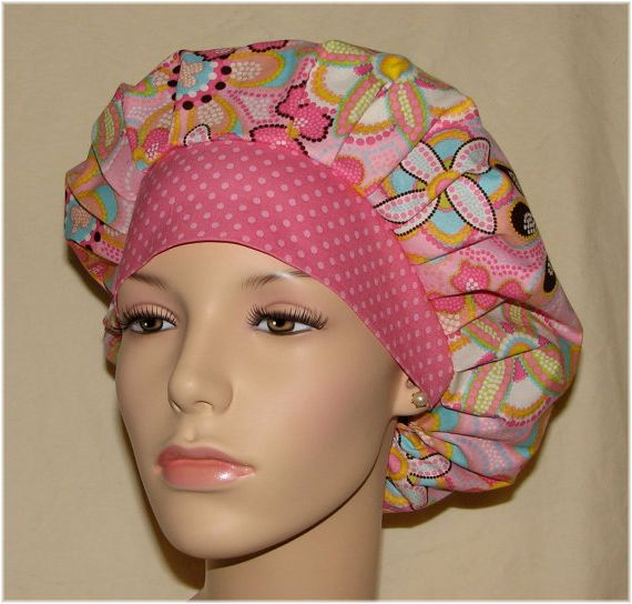 Poppy Bouffant Surgical Scrub Hat Pattern Scrub Hat Patterns