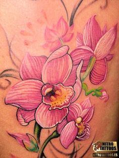 tatuajes orquideas fotos - Buscar con Google
