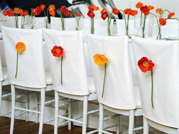 Chair-Back Decor For Your Wedding >> http://www.diynetwork.com/decorating/chair-back-decor-for-your-wedding/pictures/index.html?soc=pinterest
