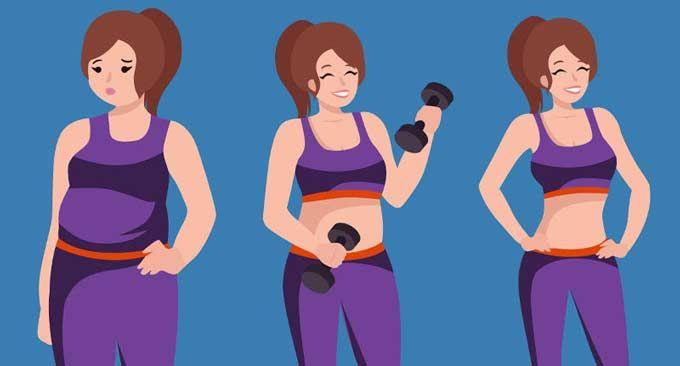 Perdre du poids : combien d'exercices dois-je faire chaque