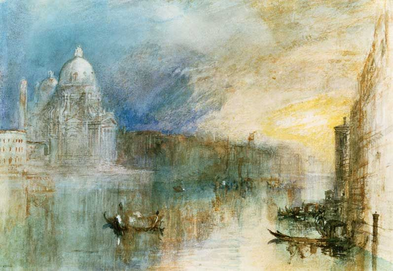 Turner Watercolors Of Venice Turner Paintings Of Venice