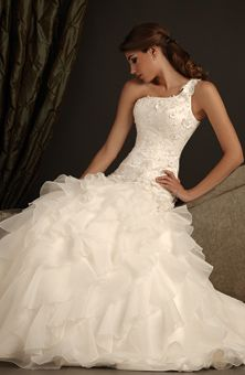 This beautiful gown is only $479.98! Style # 2408 from Allure in ivory size 8. Call for an appointment at 585-431-0058 to try it on and save hundreds off your dream wedding dress!