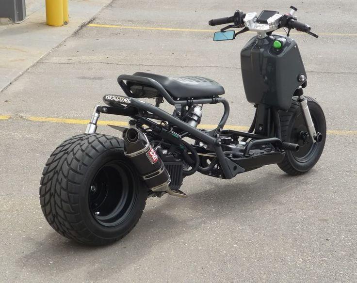 honda zoomer custom uk google search hotbad ass pinterest honda ruckus honda and scooters. Black Bedroom Furniture Sets. Home Design Ideas