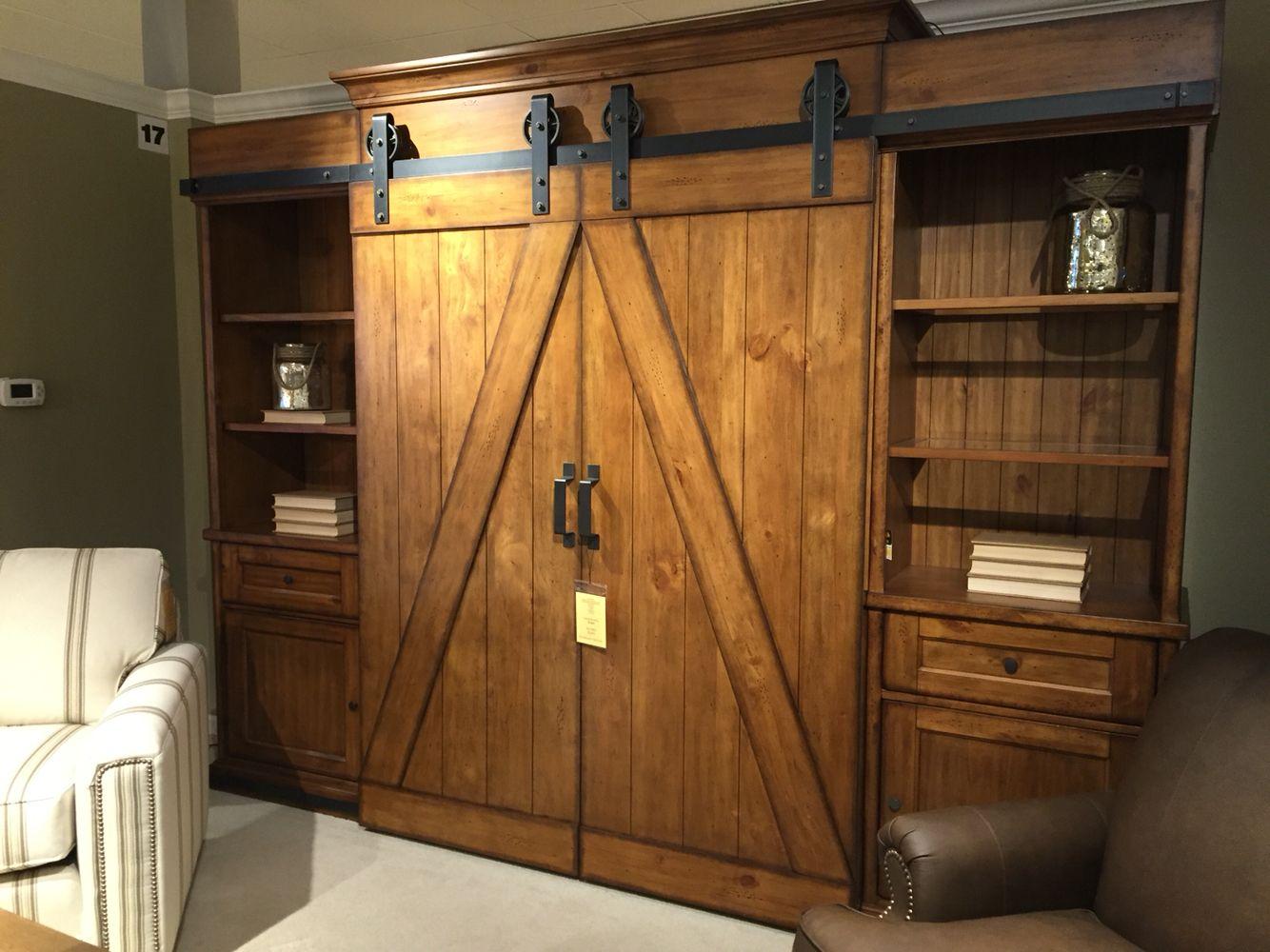 Barn Door Entertainment Center Barn Door Bookcase