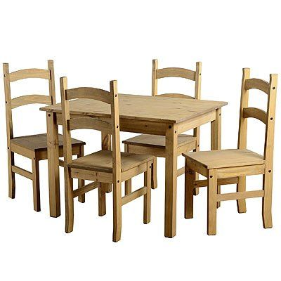 Seconique Budget Mexican Dining Set  Chairs Amazon.uk
